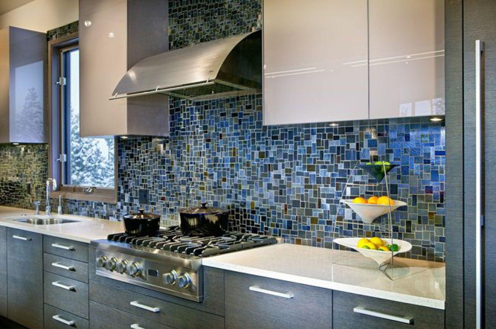 gạch ốp tường bếp - gạch mosaic