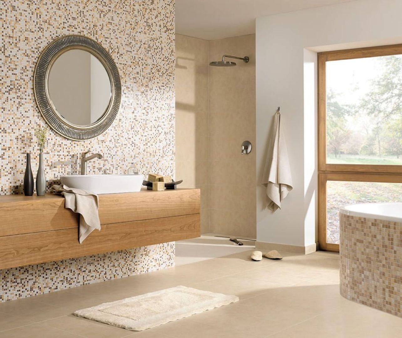 gạch mosaic - phòng tắm