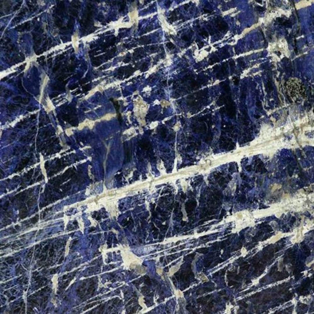đá marble màu xanh lam