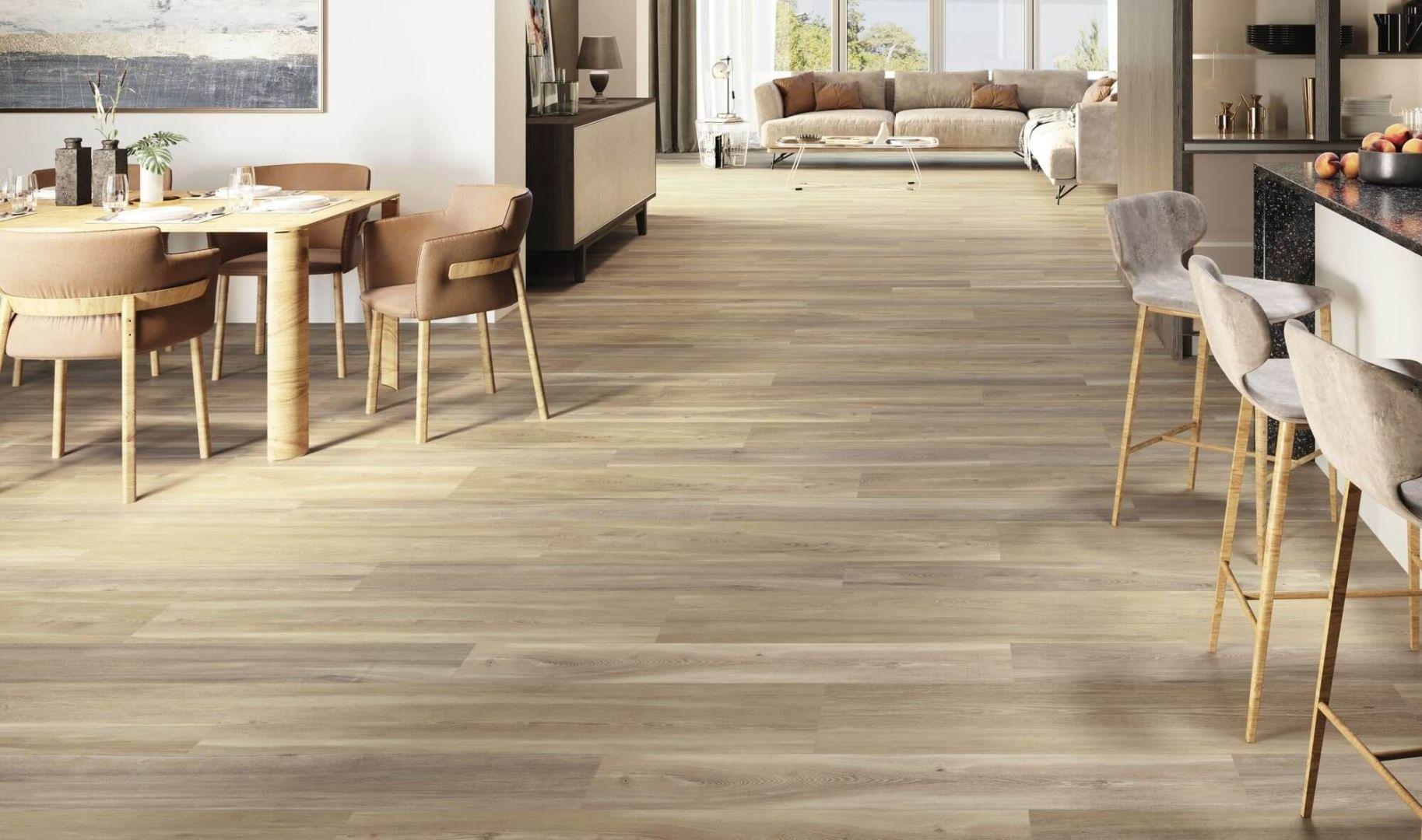 Gạch giả gỗ phù hợp cho nhiều không gian ứng dụng
