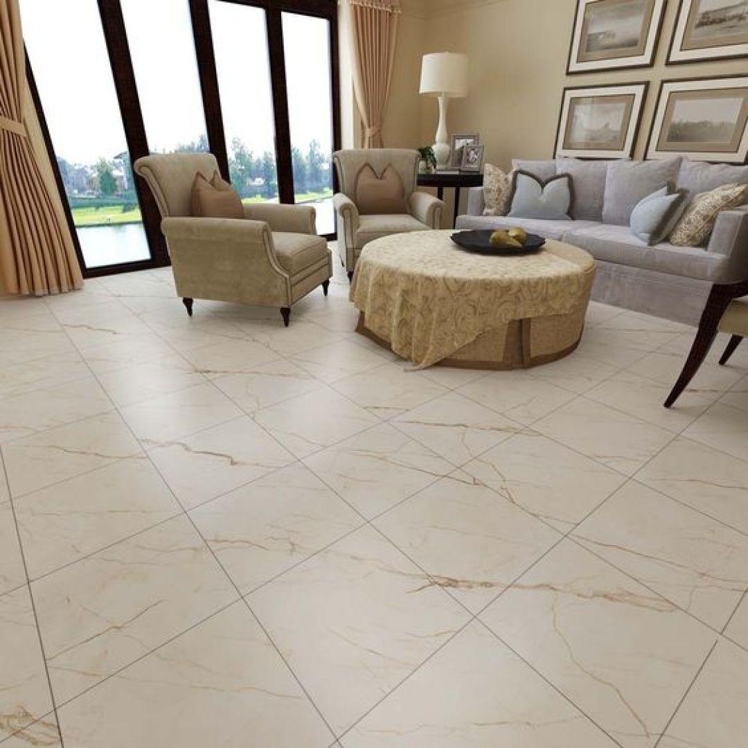 Gạch giả đá marble màu vàng