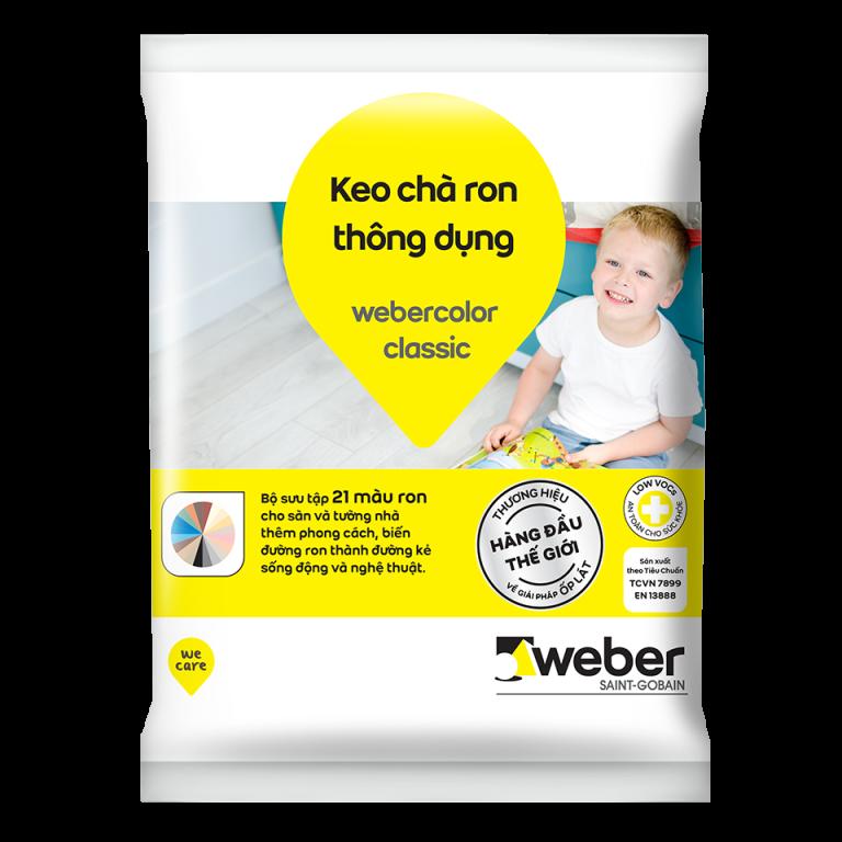 Keo chà ron thái weber chính hãng - webercolor classic