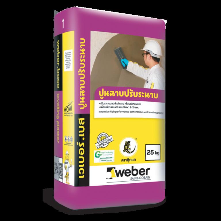 weberbase levelling plaster