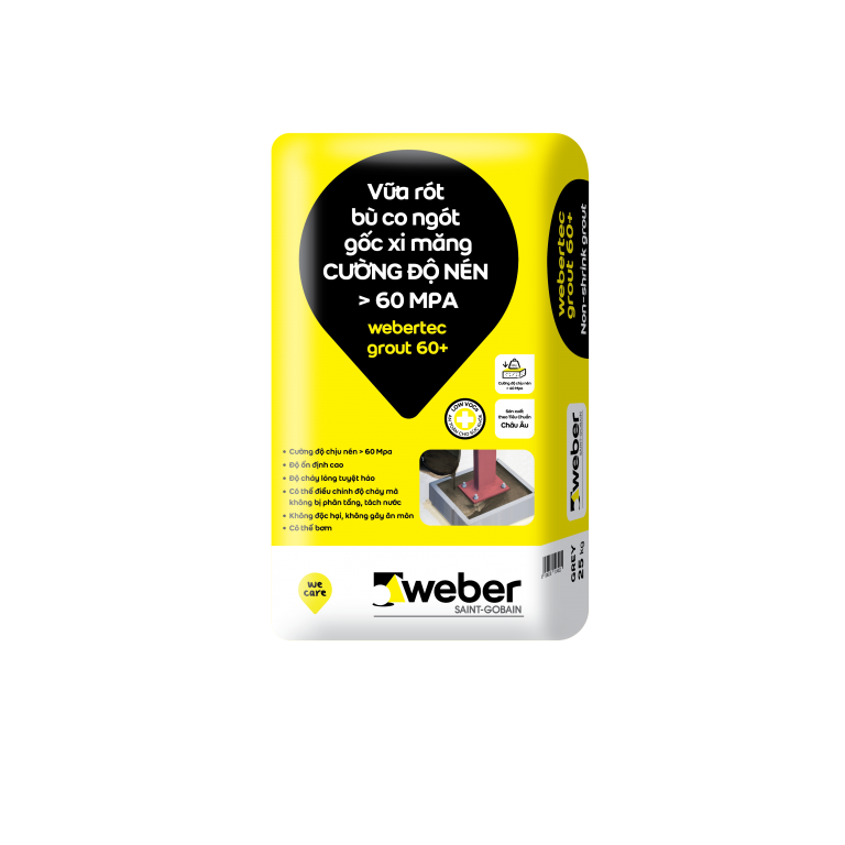webertec grout 60+