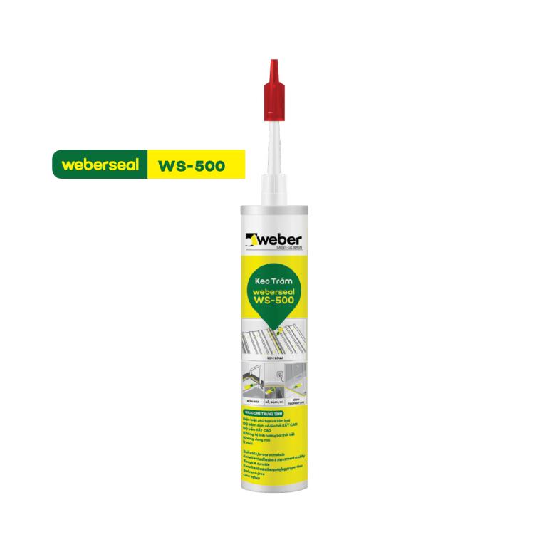 Keo silicone dán dưới nước Weberseal WS-500